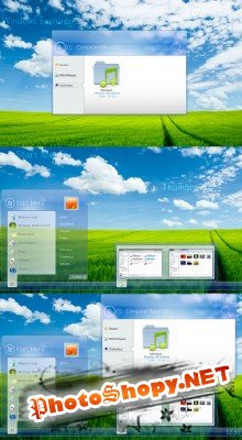 Something fresh windows explorer psd
