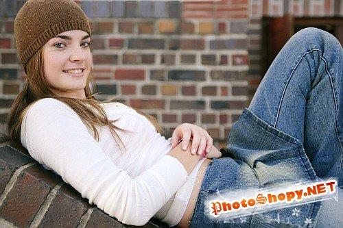 Stock Photos - подростковая любовь