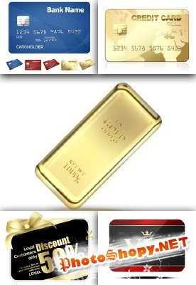 Gold and discount credit card