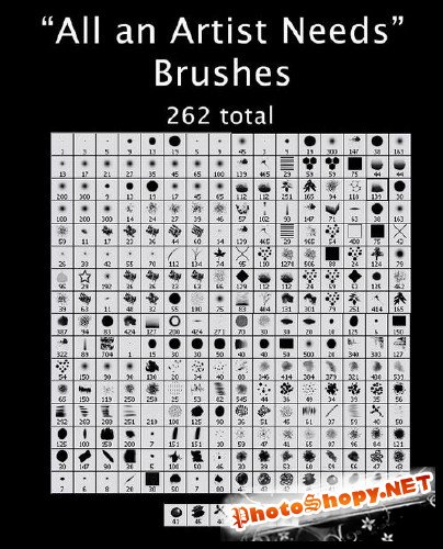 All An Artist Needs Brushes For Photoshop