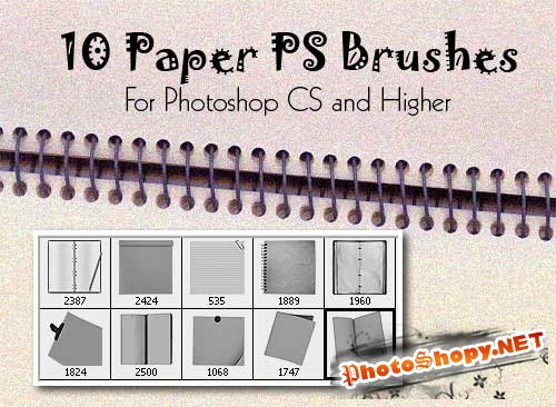 Paper ps brushes