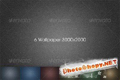 GraphicRiver - 6 Hi-res Textured Backgrounds