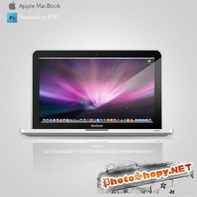 Apple Macbook PSD