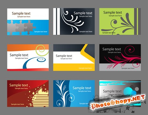 Vector Business Cards - Fashion Creative