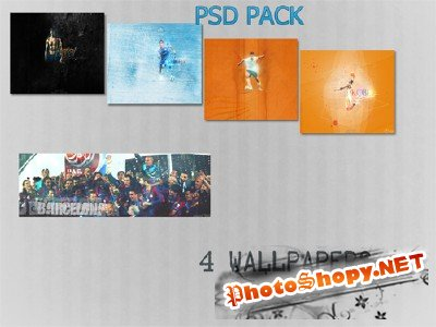 PSD file Pack
