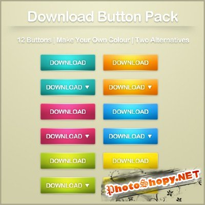 Web button pack