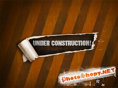 Template of Under Construction Page