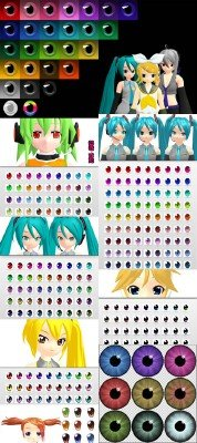 COOL Anime Eyes pack 2
