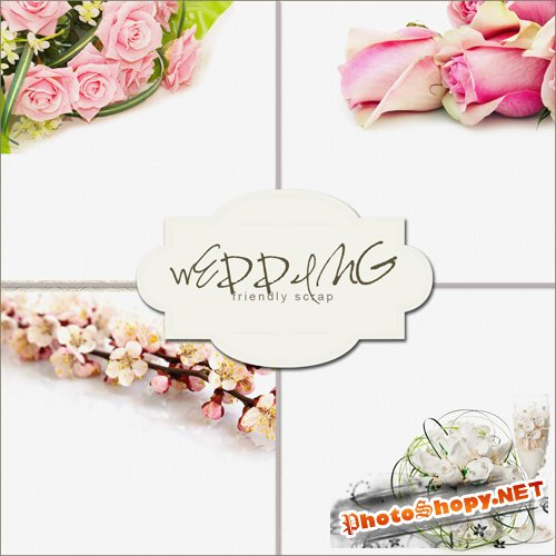 Textures - Wedding Flowers Backgrounds