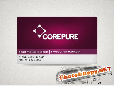 Corepure Business card