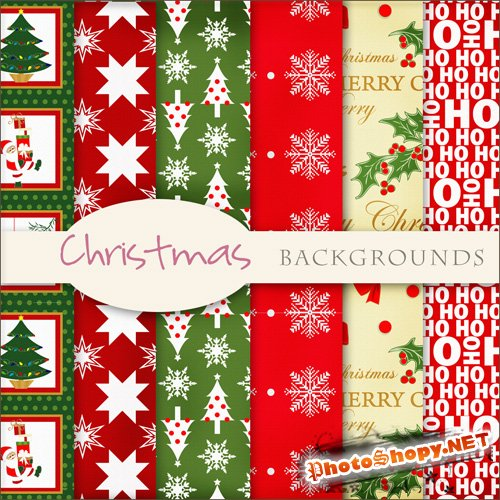 Textures - Christmas Backgrounds #1