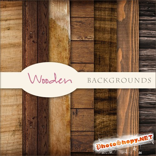 Textures - Woods Backgrounds #1