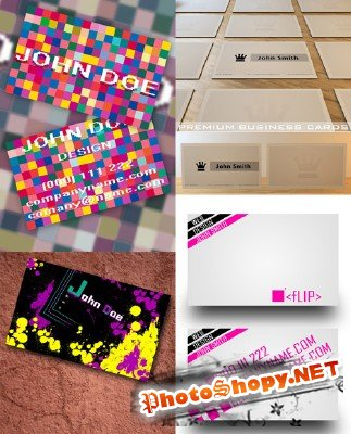 PSD Business Cards 2011 pack # 2