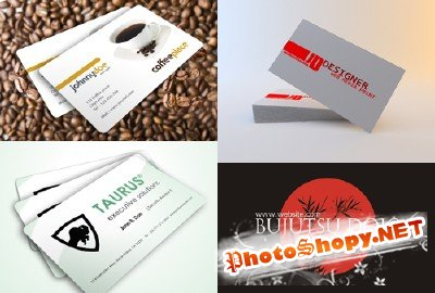 PSD Business Cards 2011 pack # 4