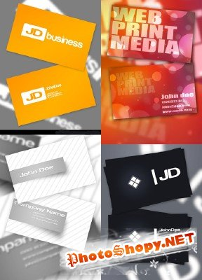 PSD Business Cards 2011 pack # 7
