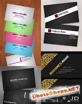 PSD Business Cards 2011 pack # 6