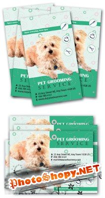 Pet Grooming Card