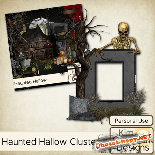 Cluster Frame - Haunted Hallow