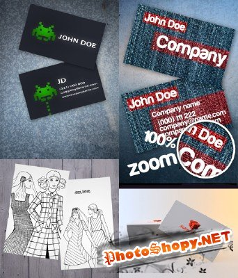 PSD Business Cards 2011 pack # 10