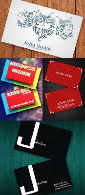 PSD Business Cards 2011 pack # 14