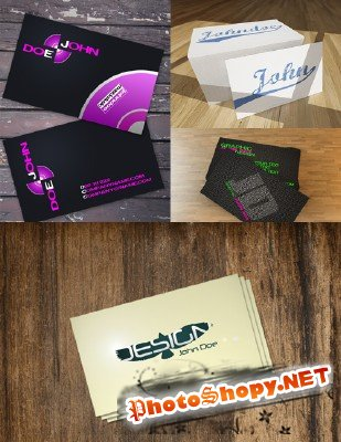 PSD Business Cards 2011 pack # 15