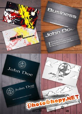 PSD Business Cards 2011 pack # 16
