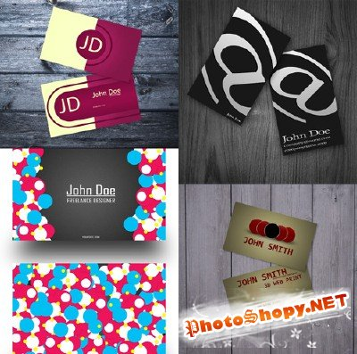 PSD Business Cards 2011 pack # 17