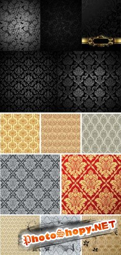 European tile pattern background