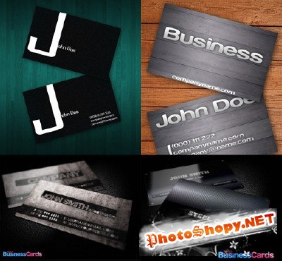 PSD Business Cards 2011 pack # 23