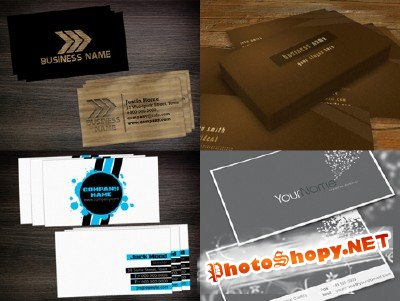 PSD Business Cards 2011 pack # 22