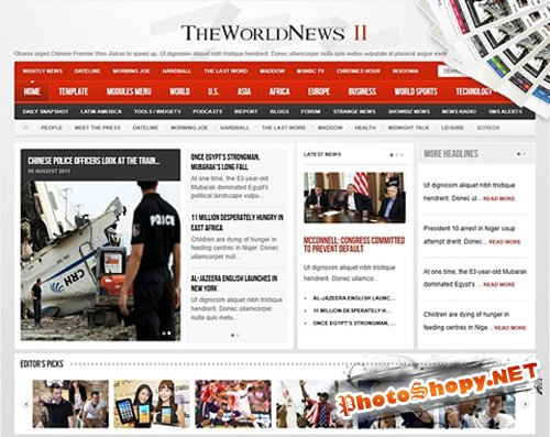 The World News II v1.0.3 - J1.5 and v2.3 - J1.7