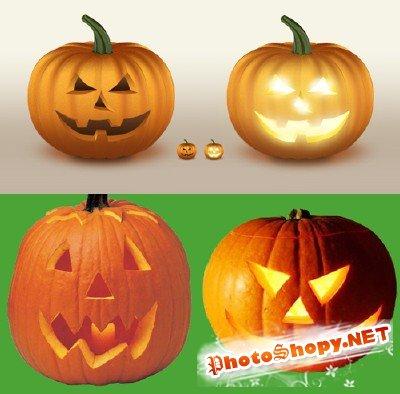Halloween Pumpkin psd