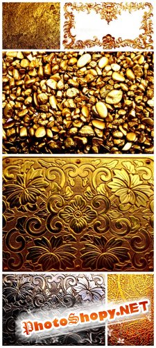 Golden Backgrounds #3