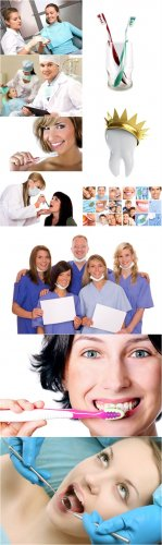 Dental Cliparts - Dentist, dentistry, healthy teeth, smile