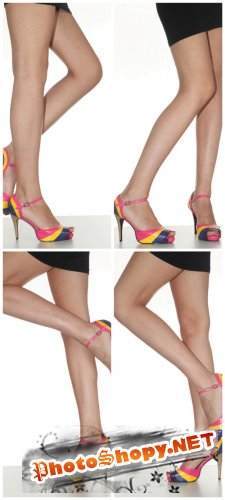 Photo Cliparts - Female Feet
