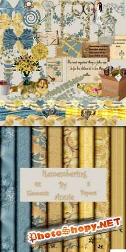 Scrap-set - Remembering