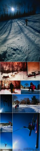 Artville PH027 Outdoor Recreation - Winter