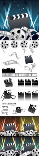 Movie Vector Cliparts