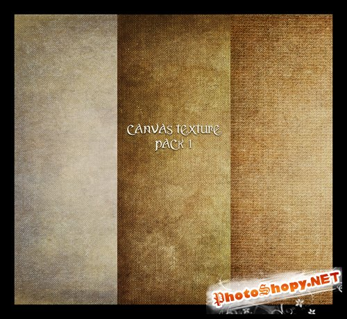 Canvas Texture Pack 1