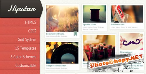 ThemeForest - Hipstar - Creative HTML Template - Rip