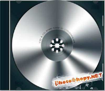 CD CASE psd