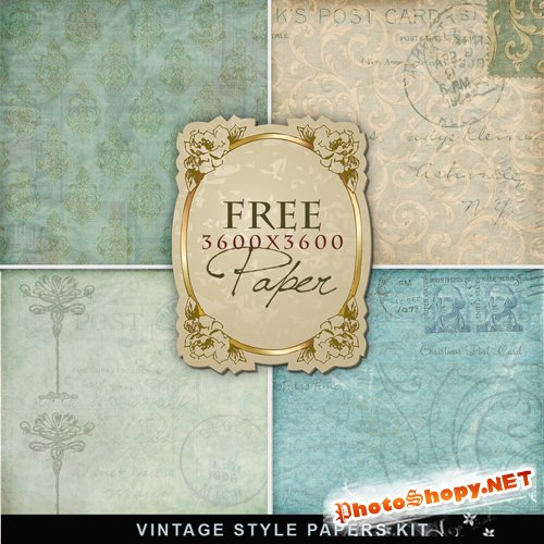 Textures - Old Vintage Backgrounds #51