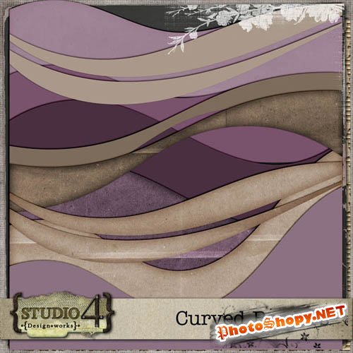 Scrap-kit - Curved Borders