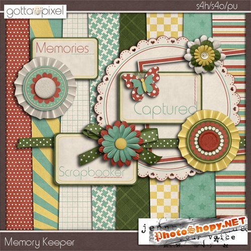 Scrap-set - Memory Keepers #2