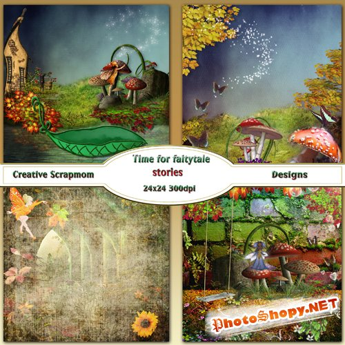 Time For Fairytale Stories Backgrounds