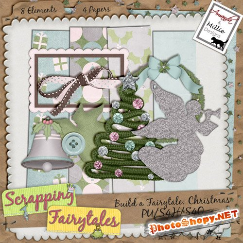 Scrap-set - Build a Fairytale: Christmas