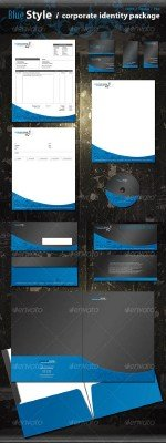 Blue Style Corporate Identity Package - GraphicRiver