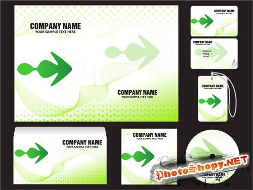 Vector Enterprise VI Design Business Card