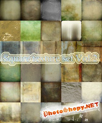 Square Texture Set Vol.2