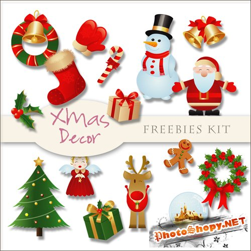 Scrap-kit - X-mas Decor #3
